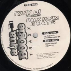Tony B! – Back Room Beats