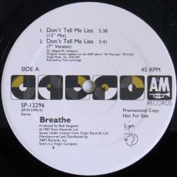 Breathe – Don't Tell Me Lies